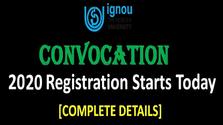 ignou convocation 2020 – IGNOU 33st Convocation List 2020